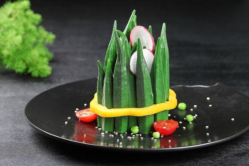 Tổ điểm ấn tượng cho buổi tiệc liên hoan chay bằng những món ăn ngon làm từ đậu bắp