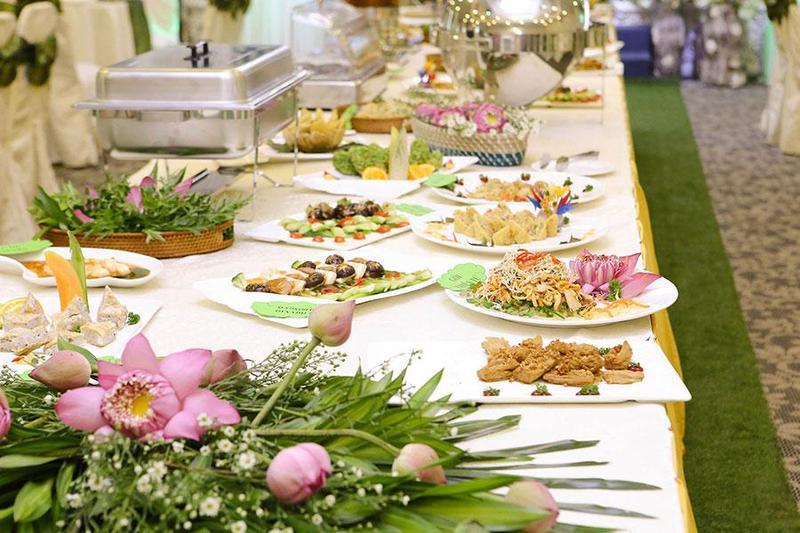 Cách sở hữu thực đơn tiệc buffet hoàn hảo khi sử dụng dịch vụ nấu tiệc chay
