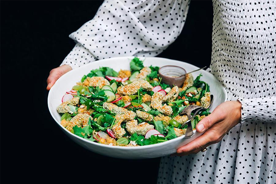 Tổng hợp những món salad ngon khó cưỡng khi đặt tiệc chay tại nhà quận 4